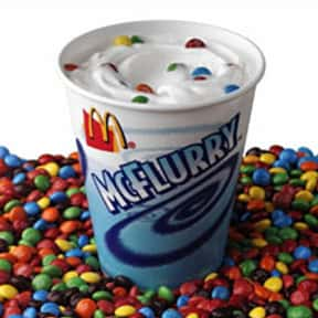 McDonald's McFlurry is listed (or ranked) 7 on the list The Best Fast Food Desserts