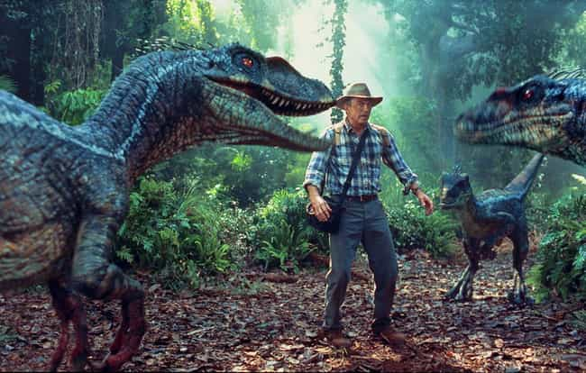 Velociraptors Sounds Fro... is listed (or ranked) 3 on the list 7 Facts That Will Ruin Your Favorite Childhood Films