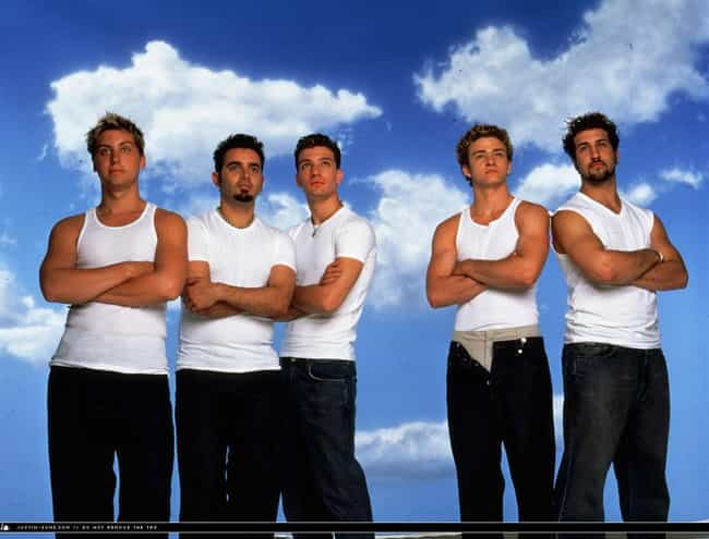Clouds is listed (or ranked) 2 on the list 34 Cheesiest Boy Band Photos from the 90s