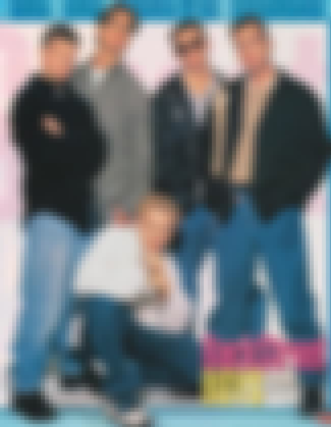 Hand to Chin Pose is listed (or ranked) 1 on the list 34 Cheesiest Boy Band Photos from the 90s