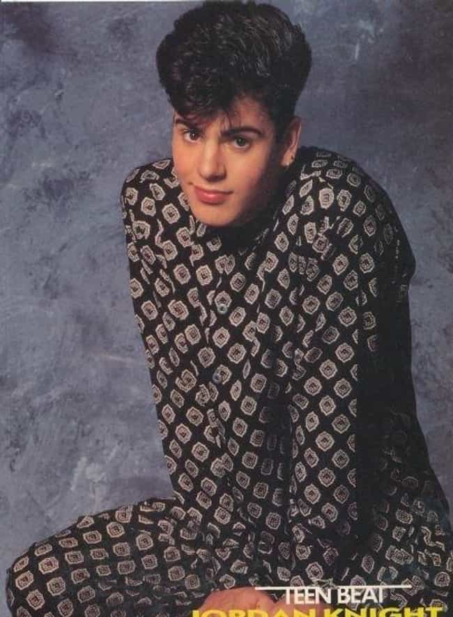 Jordan's Onesie is listed (or ranked) 4 on the list 34 Cheesiest Boy Band Photos from the 90s