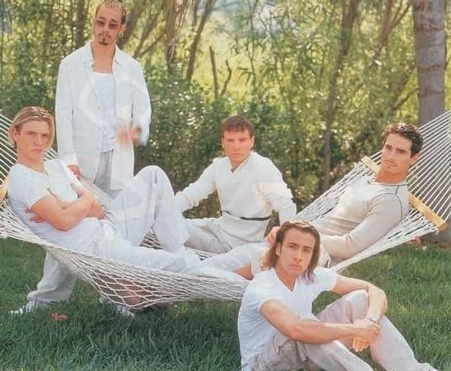 Hammock is listed (or ranked) 4 on the list 34 Cheesiest Boy Band Photos from the 90s