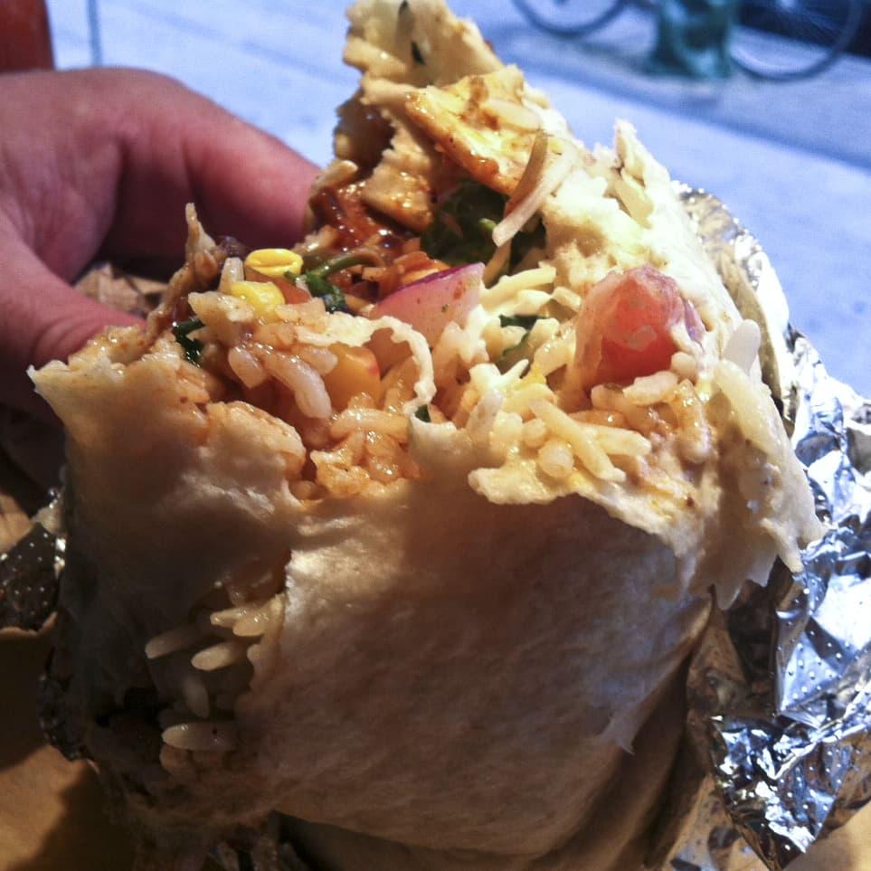 Qdoba Shredded Beef Burrito on Random Best Fast Food Burritos