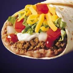 Taco Bell Burrito Supreme on Random Best Fast Food Burritos