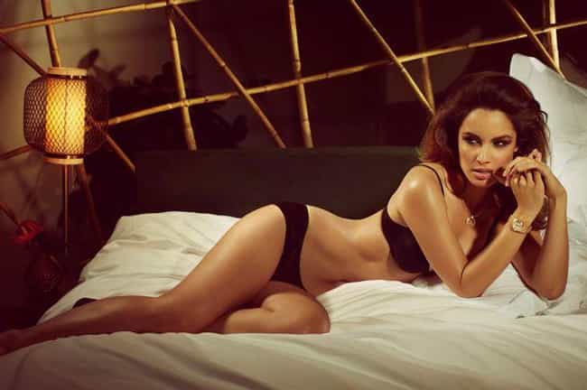 Berenice Marlohe on Bed in Bra... is listed (or ranked) 3 on the list Hottest Berenice Marlohe Photos