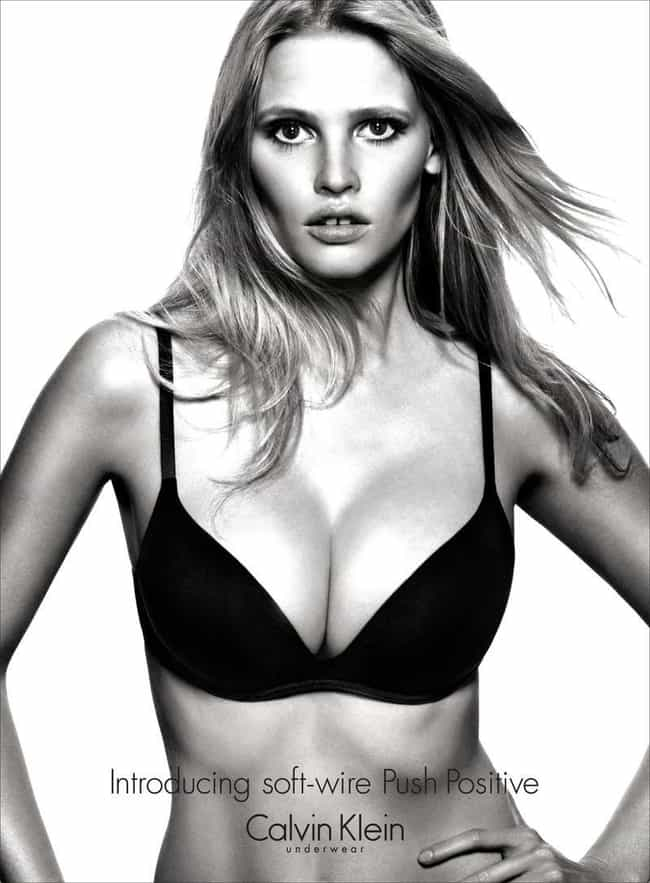 Lara Stone in Black Bra is listed (or ranked) 1 on the list Hottest Lara Stone Photos