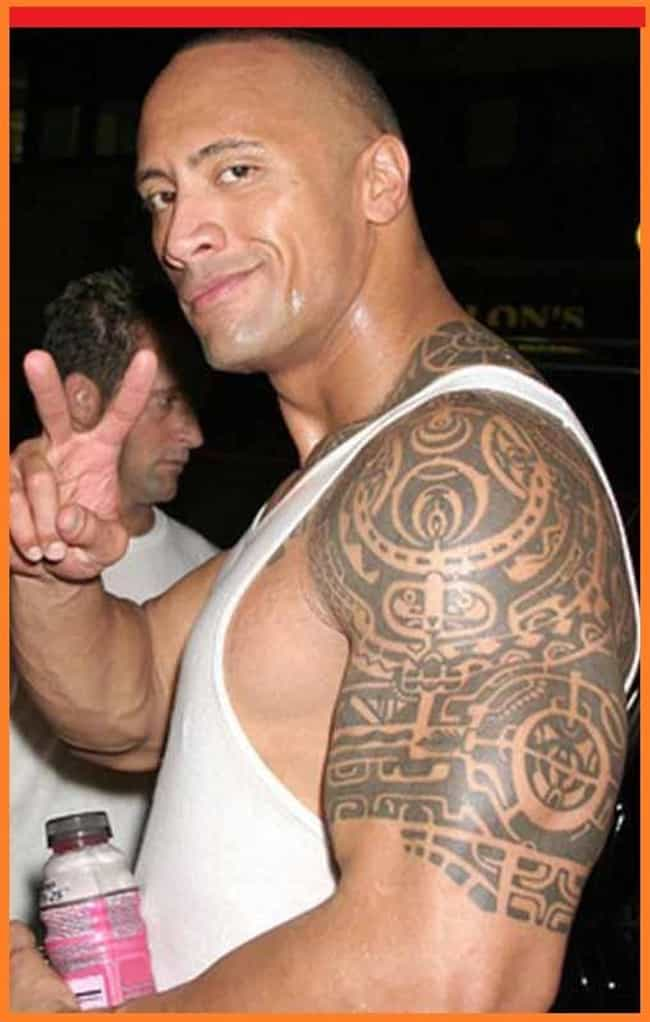 Spiritual Guide is listed (or ranked) 3 on the list The Rock Tattoos