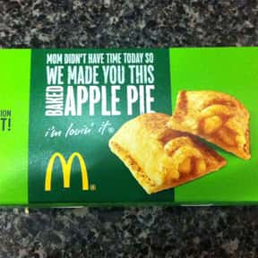 McDonald's Apple Pie is listed (or ranked) 12 on the list The Best Fast Food Desserts