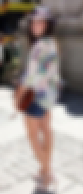 Amanda Setton in Denim Shorts is listed (or ranked) 4 on the list The 25 Hottest Amanda Setton Photos