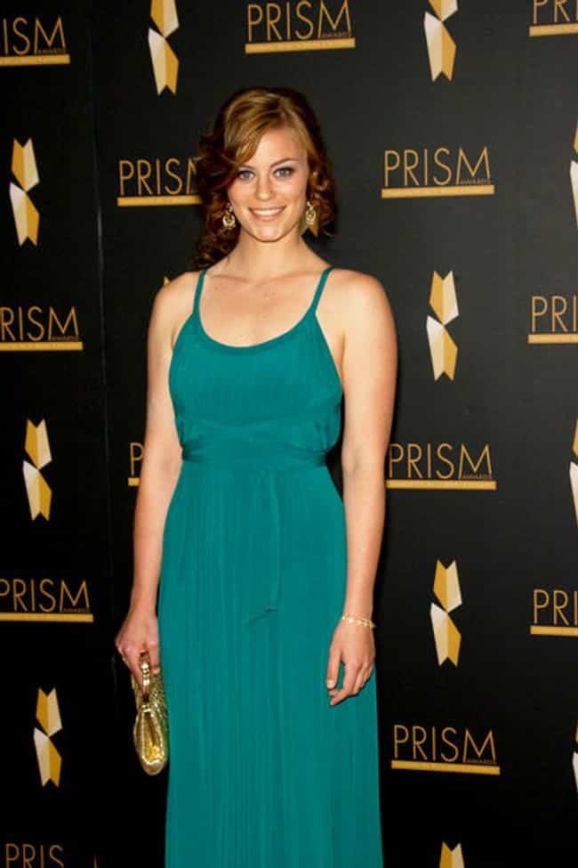 Cassidy Freeman in Long Teal D... is listed (or ranked) 3 on the list The Most Stunning Cassidy Freeman Photos