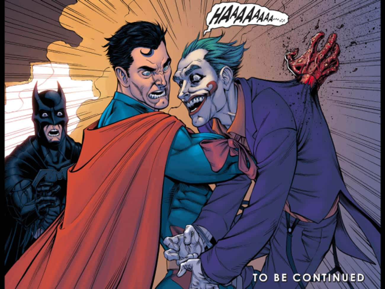 Superman is listed (or ranked) 3 on the list The Top 30 Times Superheroes Went Bad