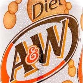 Diet A&W Root Beer is listed (or ranked) 3 on the list The Best Diet Sodas