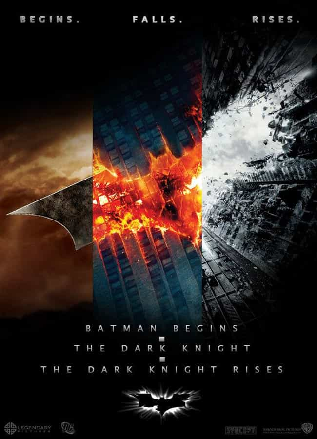The Dark Knight Trilogy is listed (or ranked) 2 on the list Fan Made Superhero Poster That Are Better Than The Real Ones