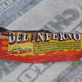 Del Taco Del Inferno Sauce is listed (or ranked) 6 on the list The Best Fast Food Hot Sauces