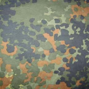 Flecktarn is listed (or ranked) 2 on the list The Best Military Camouflage Patterns