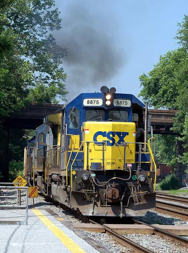 EMD SD40-2 is listed (or ranked) 1 on the list The Best U.S. Diesel Locomotives
