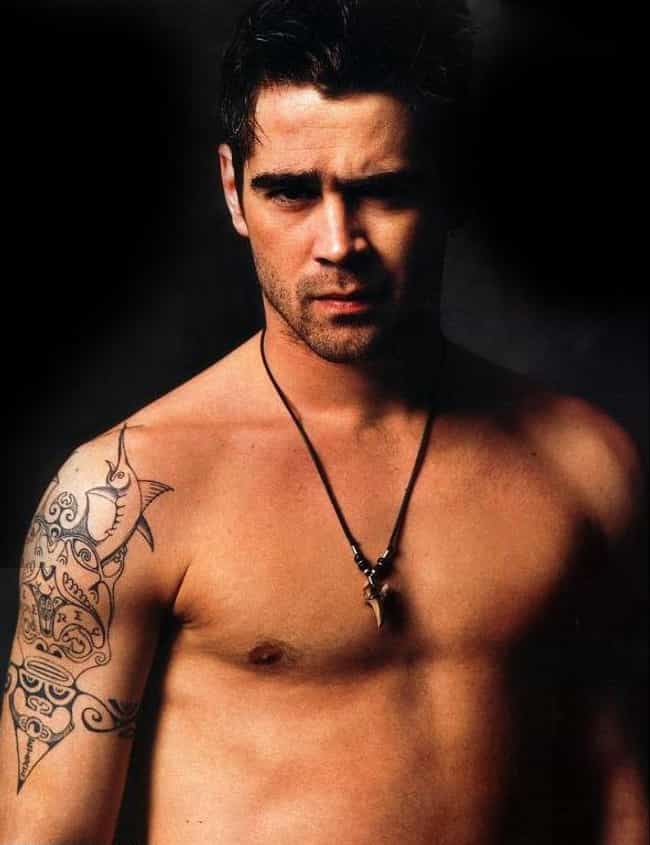 Tribal Design is listed (or ranked) 1 on the list Colin Farrell Tattoos