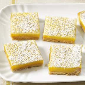 Lemon Bars is listed (or ranked) 24 on the list The Best Picnic Foods