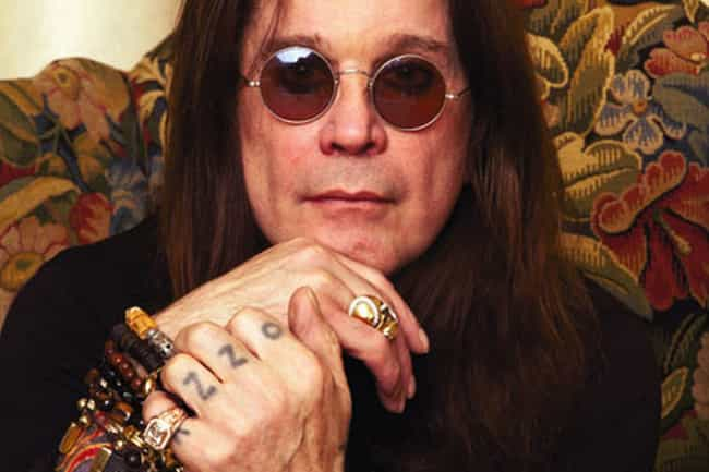 Ozzy is listed (or ranked) 1 on the list Ozzy Osbourne Tattoos