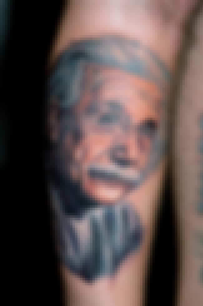 Albert Einstein is listed (or ranked) 1 on the list Fred Durst Tattoos