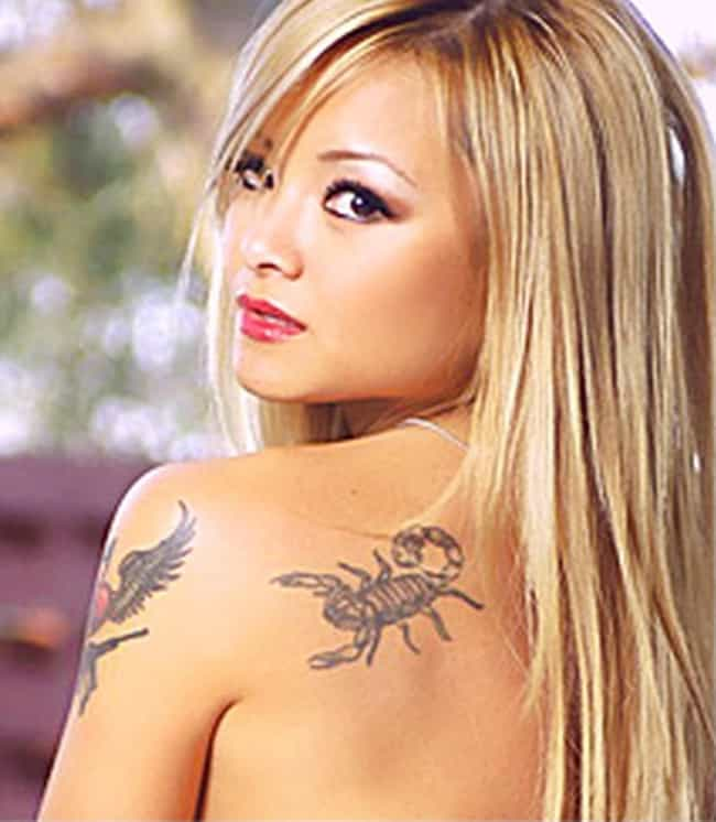 Scorpion is listed (or ranked) 4 on the list Tila Tequila Tattoos