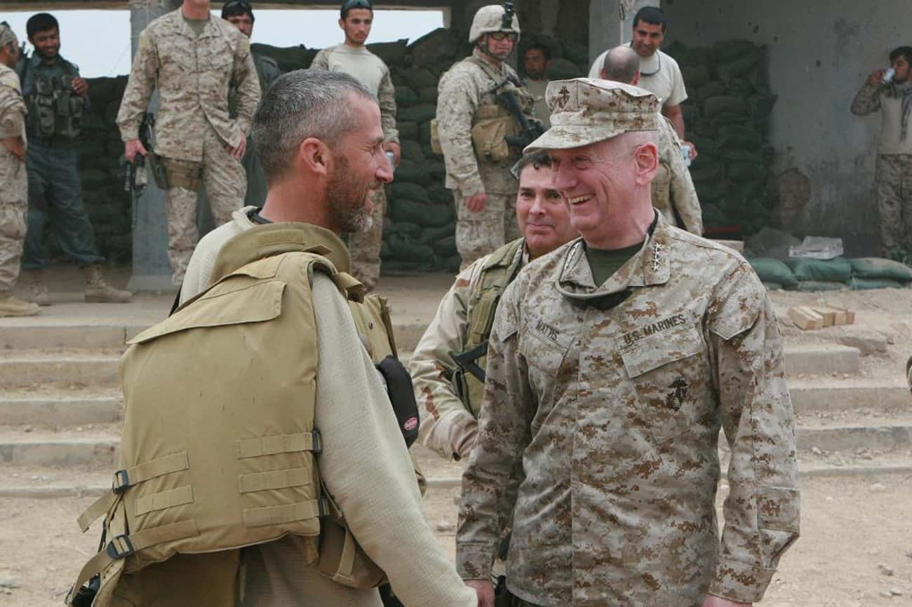 To Iraqi Tribal Leaders is listed (or ranked) 1 on the list The Very Best Quotes From Gen. James N. Mattis (USMC, Ret.)