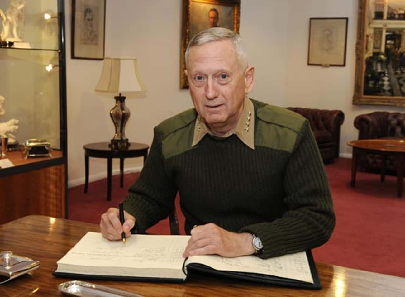 To a Professional Conferance is listed (or ranked) 4 on the list The Very Best Quotes From Gen. James N. Mattis (USMC, Ret.)