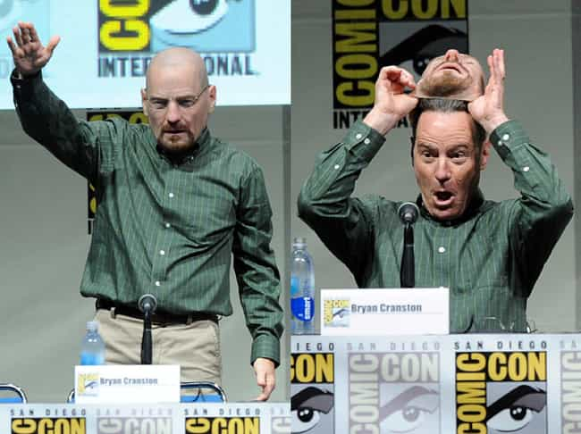 Bryan Cranston Dressed A... is listed (or ranked) 2 on the list The Very Best Costumes at Comic-Con 2013, RANKED