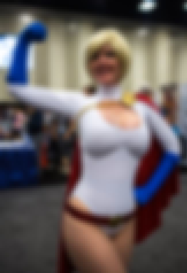 Incredibly Accurate Power Girl is listed (or ranked) 3 on the list The Very Best Costumes at Comic-Con 2013, RANKED
