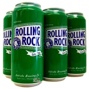 Rolling Rock is listed (or ranked) 9 on the list The Best Beers to Chug