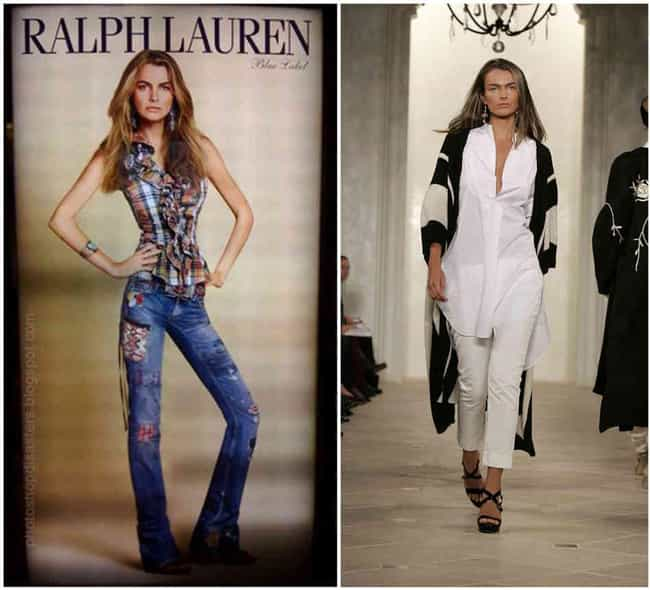 Ralph Lauren's Models Do... is listed (or ranked) 4 on the list 49 Horrifying Fashion Magazine Photoshop Fails