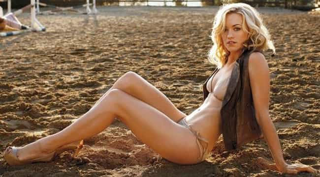 Yvonne Strahovski Goes to the ... is listed (or ranked) 1 on the list The Sexiest Yvonne Strahovski Pictures Ever