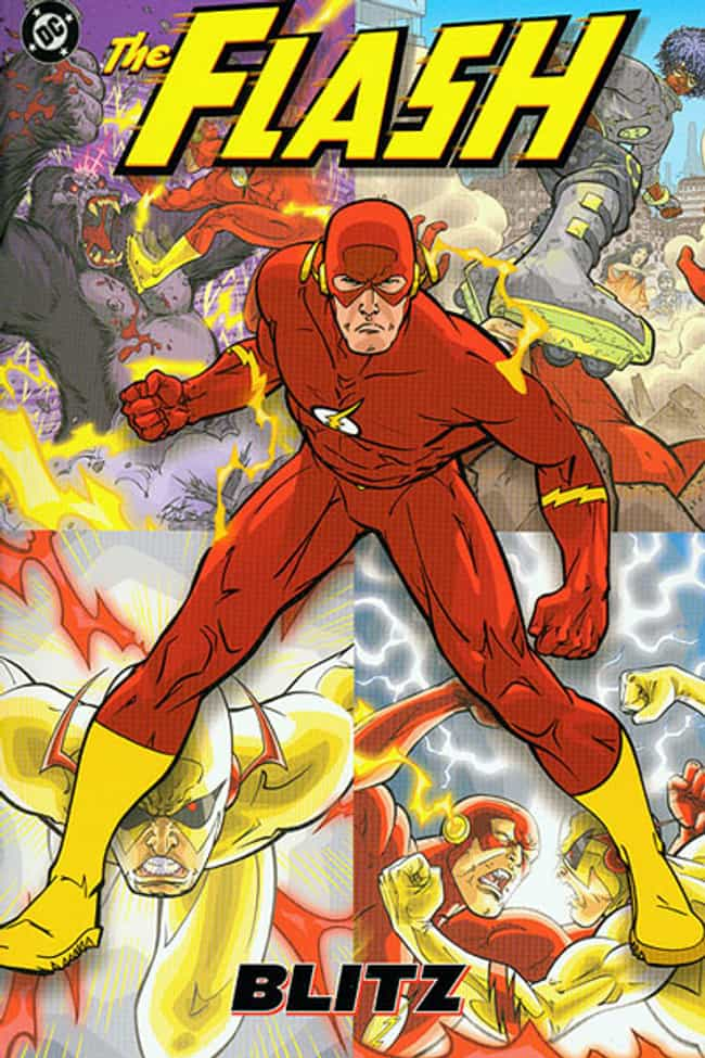 The Flash: Blitz is listed (or ranked) 3 on the list The Greatest Flash Stories Ever Told