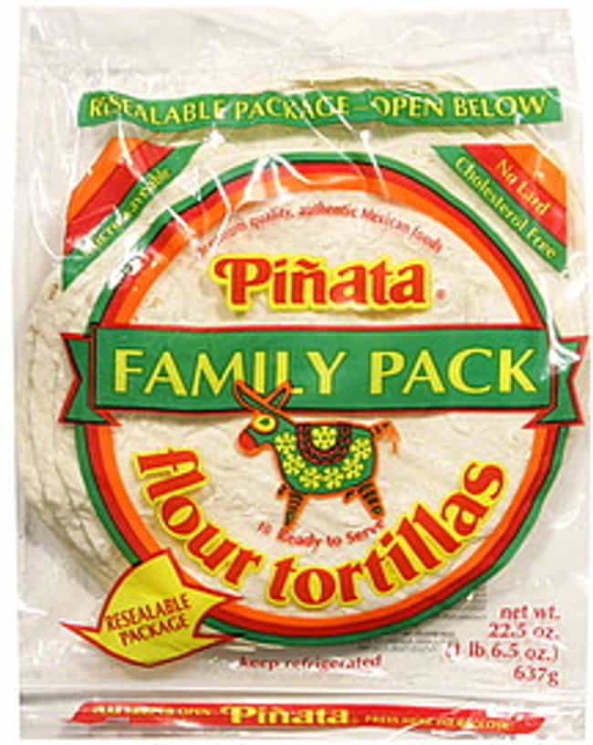 Piñata Tortillas ... is listed (or ranked) 2 on the list The Top Tortilla Brands In The United States