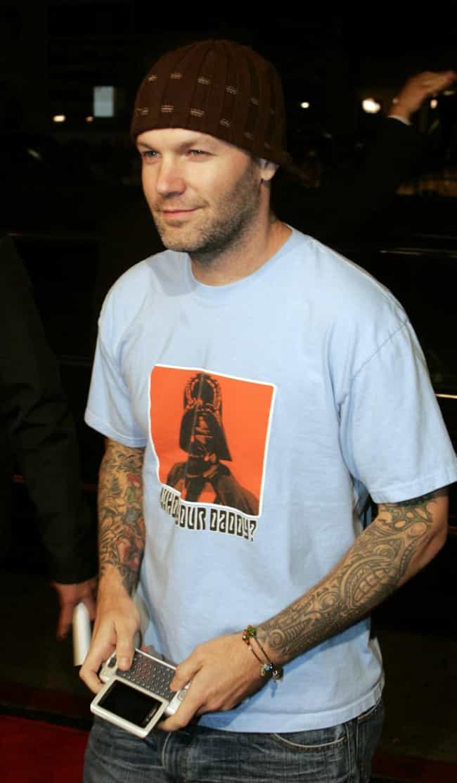 Tribal Arm Sleeves is listed (or ranked) 3 on the list Fred Durst Tattoos