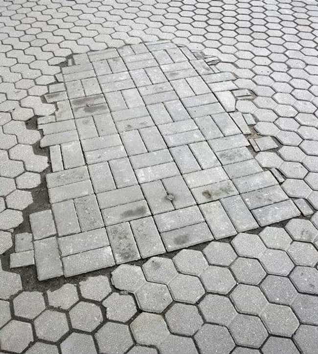 This Sidewalk is listed (or ranked) 2 on the list Infuriating Images That Will Trigger You
