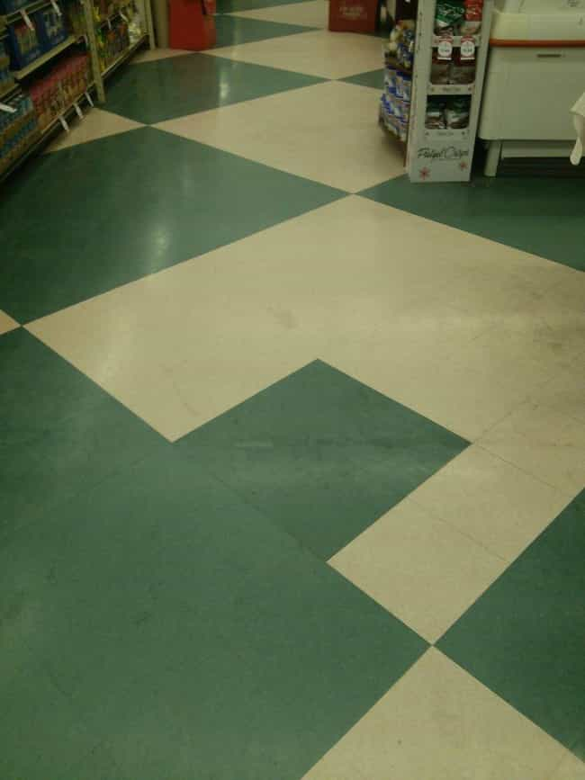 This Floor is listed (or ranked) 7 on the list Infuriating Images That Will Trigger You