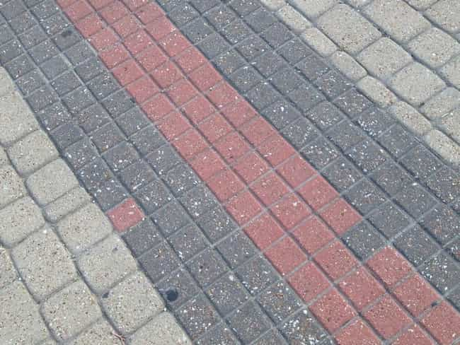 This Piece of Sidewalk is listed (or ranked) 1 on the list Infuriating Images That Will Trigger You