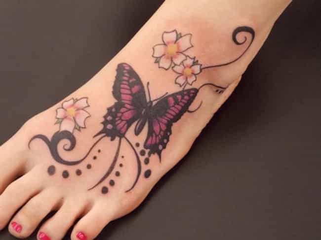 Foot Tattoos Picture List Of Foot Tattoos And Designs