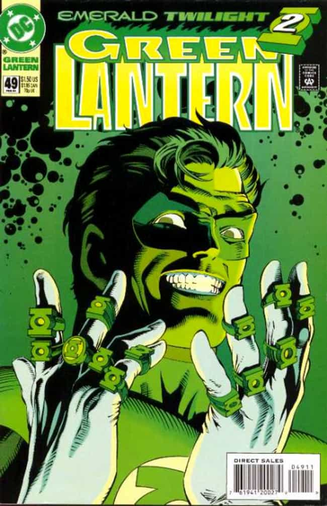 Green Lantern: Emerald T... is listed (or ranked) 4 on the list The Greatest Green Lantern Stories Ever Told