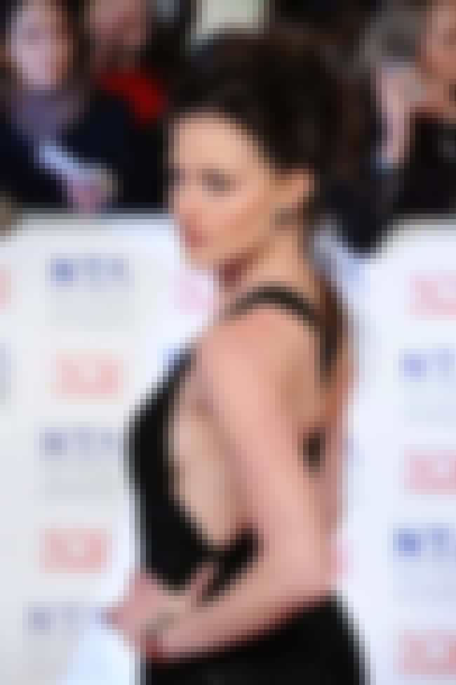 Lara Pulver in Evening Gown is listed (or ranked) 2 on the list Hottest Lara Pulver Photos