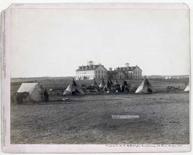 Several Teepees In View Of Two... is listed (or ranked) 3 on the list Beautiful Old Photos Of Life In The Real Wild West