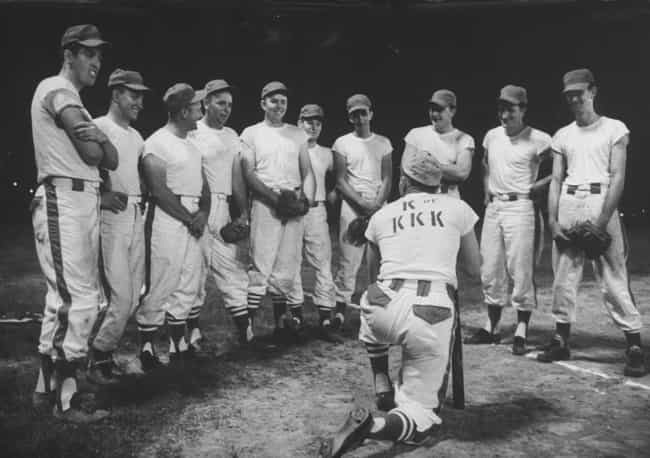The KKK Baseball Team Gatherin... is listed (or ranked) 1 on the list 15 Infuriating Photos of History's Most Evil People Having The Best Time Ever