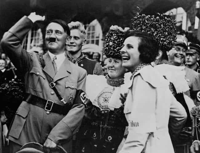 Hitler Saying, 'Stop It, You!' is listed (or ranked) 6 on the list 15 Infuriating Photos of History's Most Evil People Having The Best Time Ever