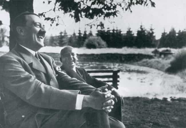 Hitler Hanging Out By The Lake is listed (or ranked) 3 on the list 15 Infuriating Photos of History's Most Evil People Having The Best Time Ever