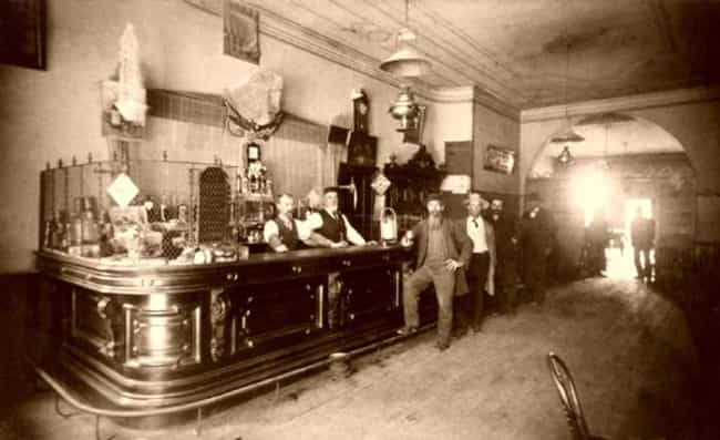 Two Barmen Tend to An Old West... is listed (or ranked) 2 on the list Beautiful Old Photos Of Life In The Real Wild West