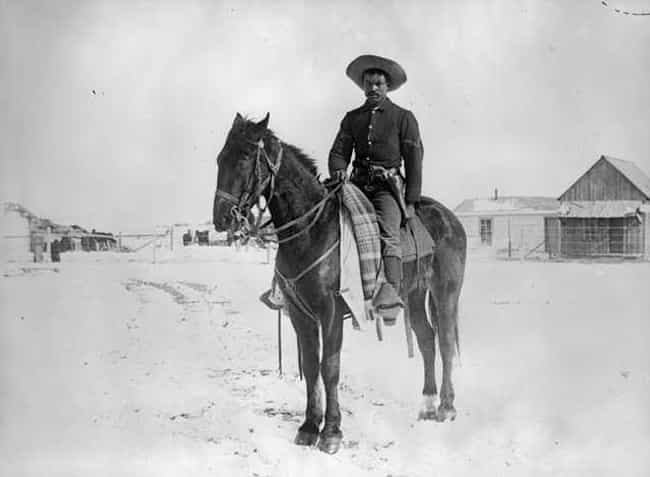 Buffalo Soldier, Colorado, 189... is listed (or ranked) 4 on the list Beautiful Old Photos Of Life In The Real Wild West