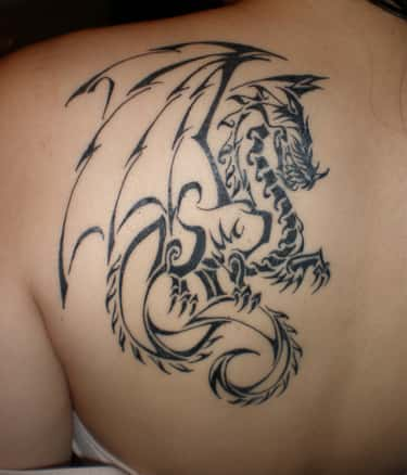 Tribal Dragon Tattoos is listed (or ranked) 2 on the list Dragon Tattoos And Designs