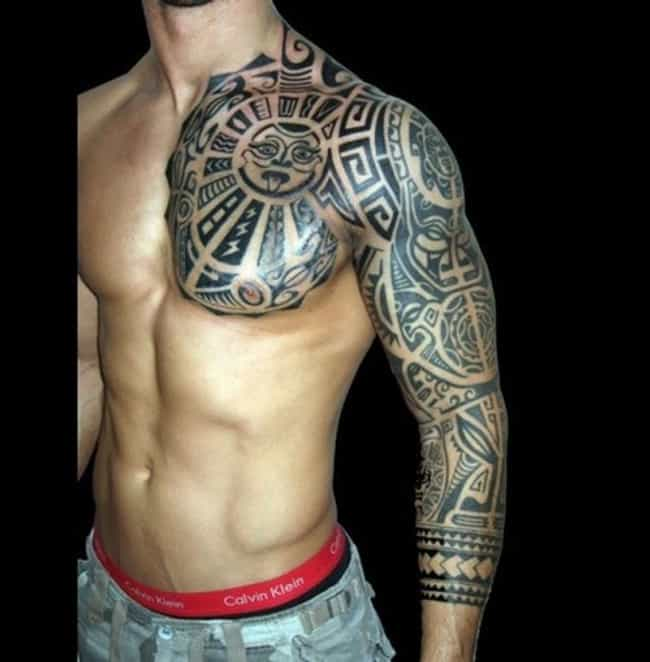 Polynesian Tribal Tattoos is listed (or ranked) 1 on the list Tribal Tattoos And Designs