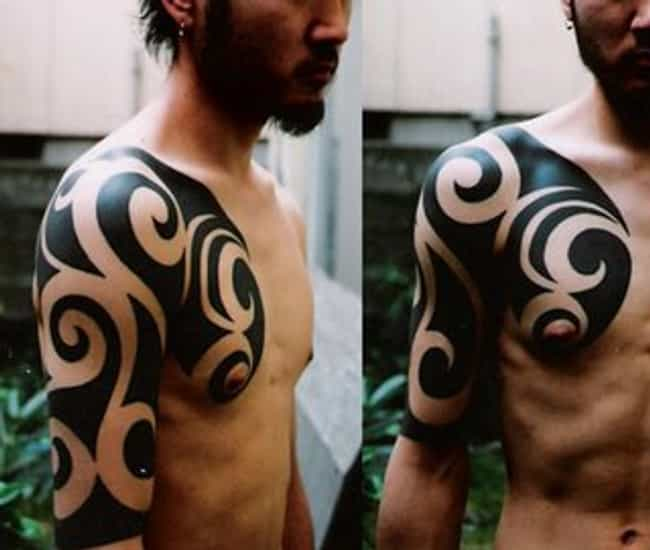 Japanese Tribal Tattoos is listed (or ranked) 4 on the list Tribal Tattoos And Designs